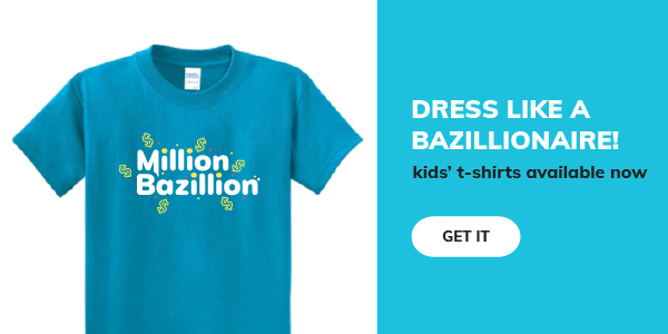 An image of our new kids' t-shirt. Click to get one.