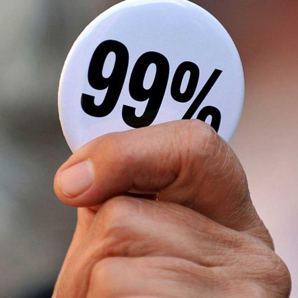 A pin reading 99%